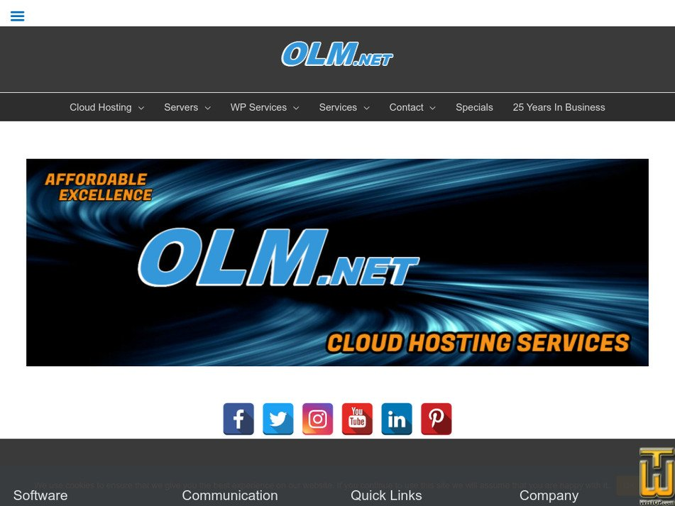 olm.net Screenshot