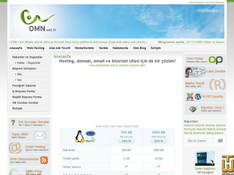 omn.net.tr Screenshot