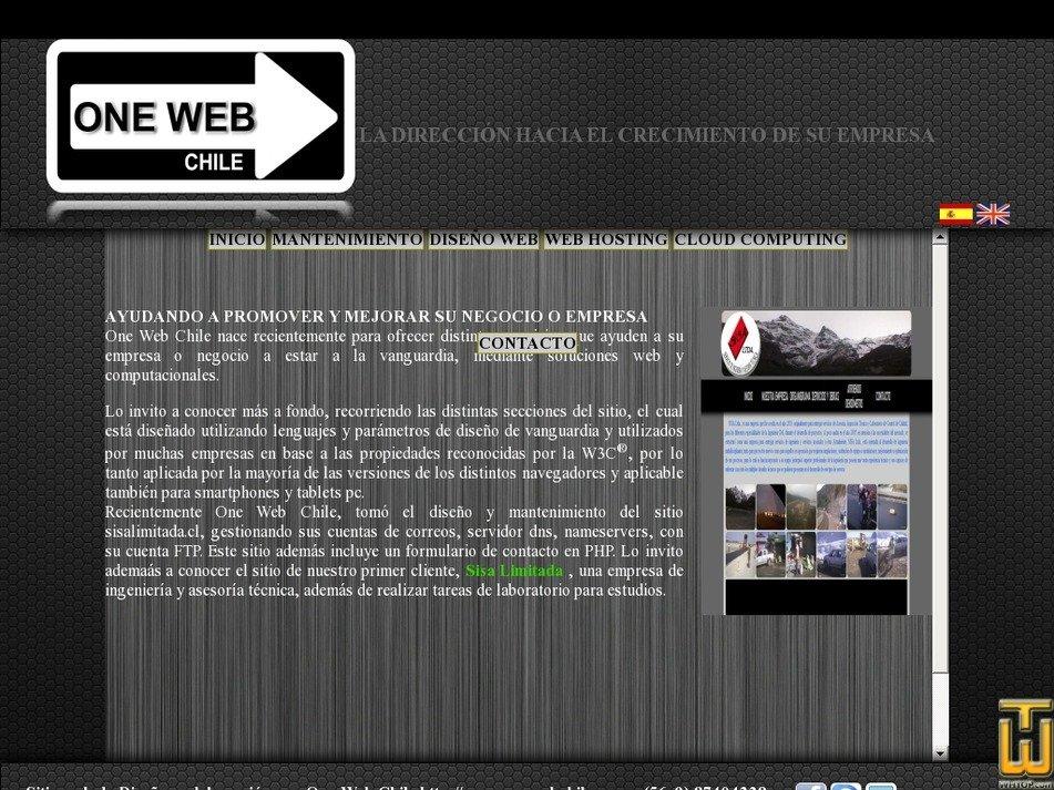 onewebchile.com Screenshot
