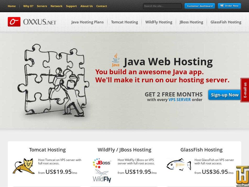 oxxus.net Screenshot