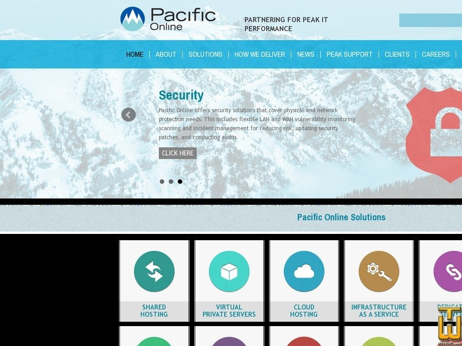 pacificonline.com Screenshot