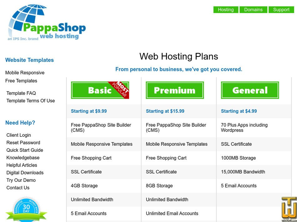 pappashop.com Screenshot