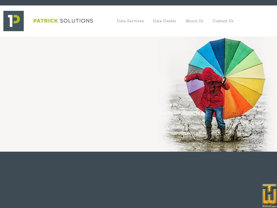 patricksolutions.com Screenshot