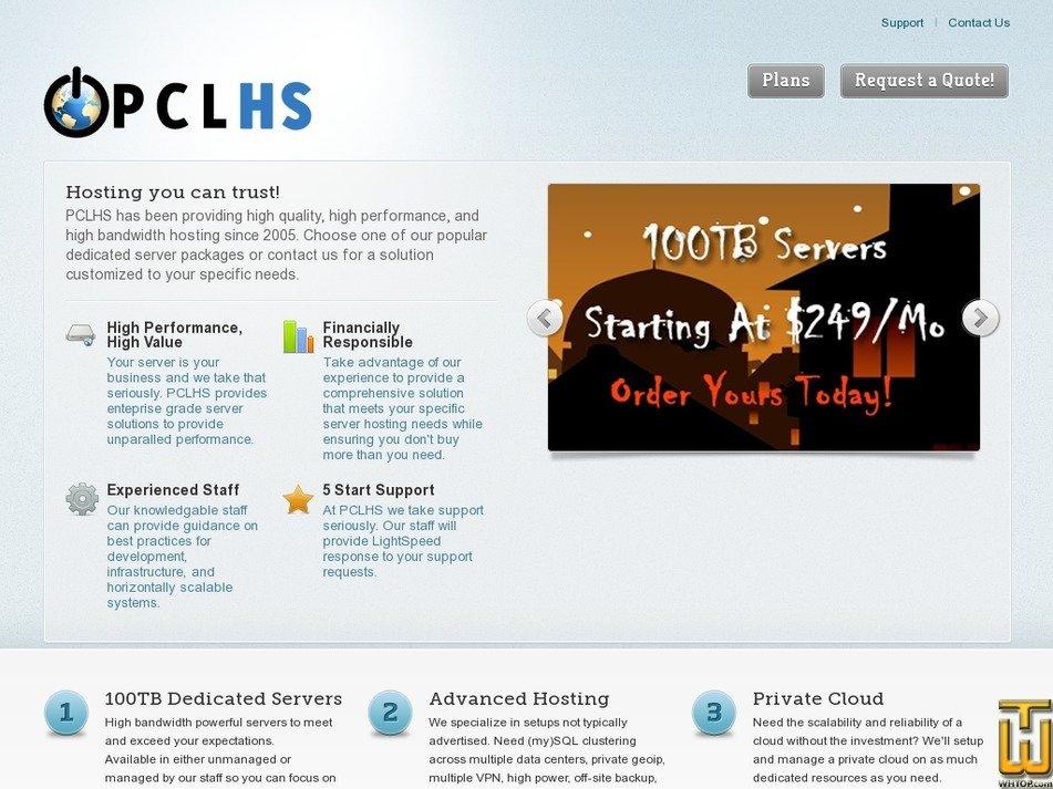 pclhs.net Screenshot