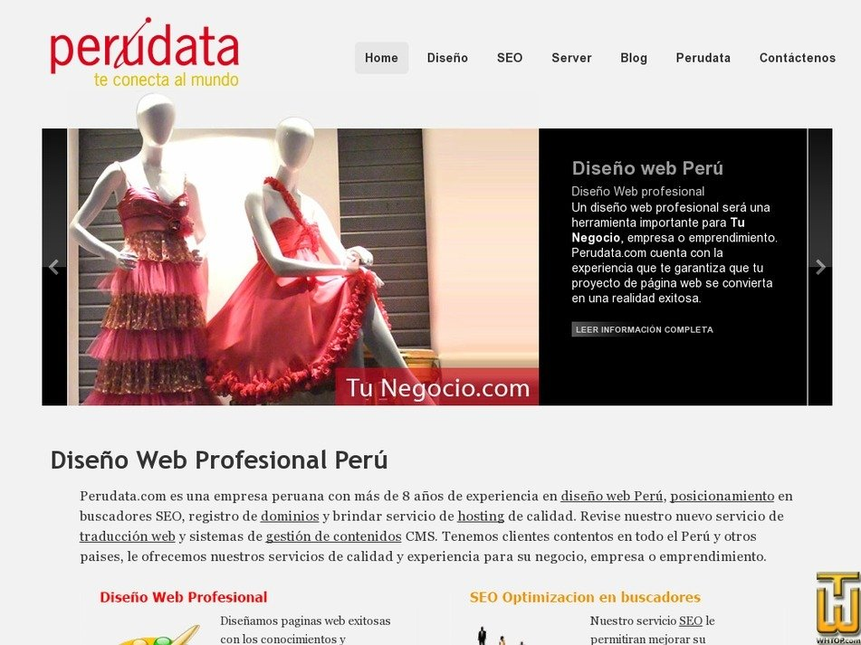 perudata.com Screenshot