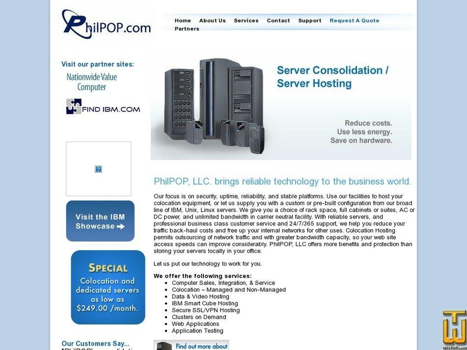 philpop.com Screenshot