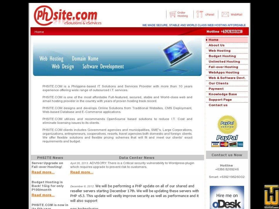 phsite.com Screenshot