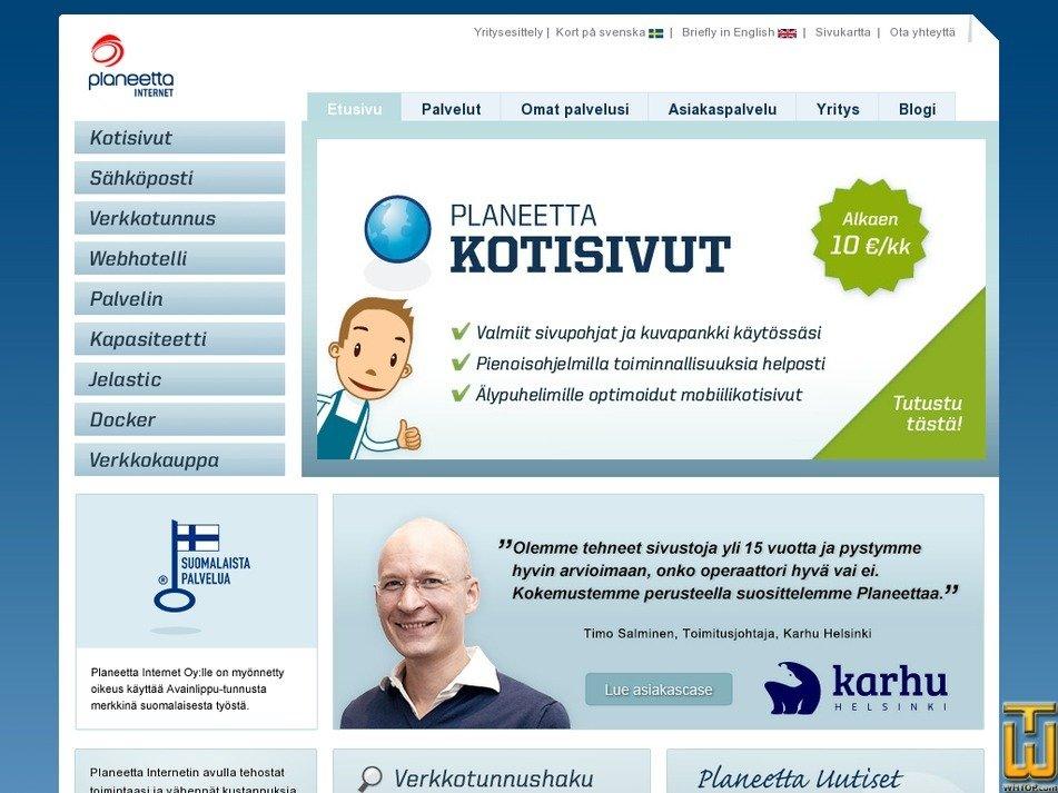 planeetta.net Screenshot
