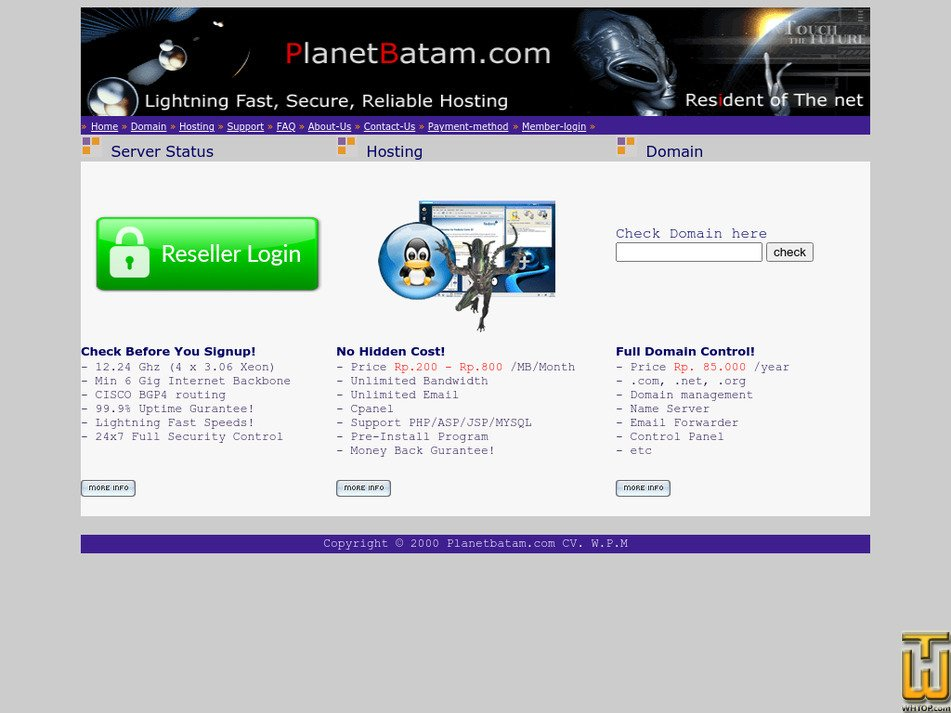 planetbatam.com Screenshot