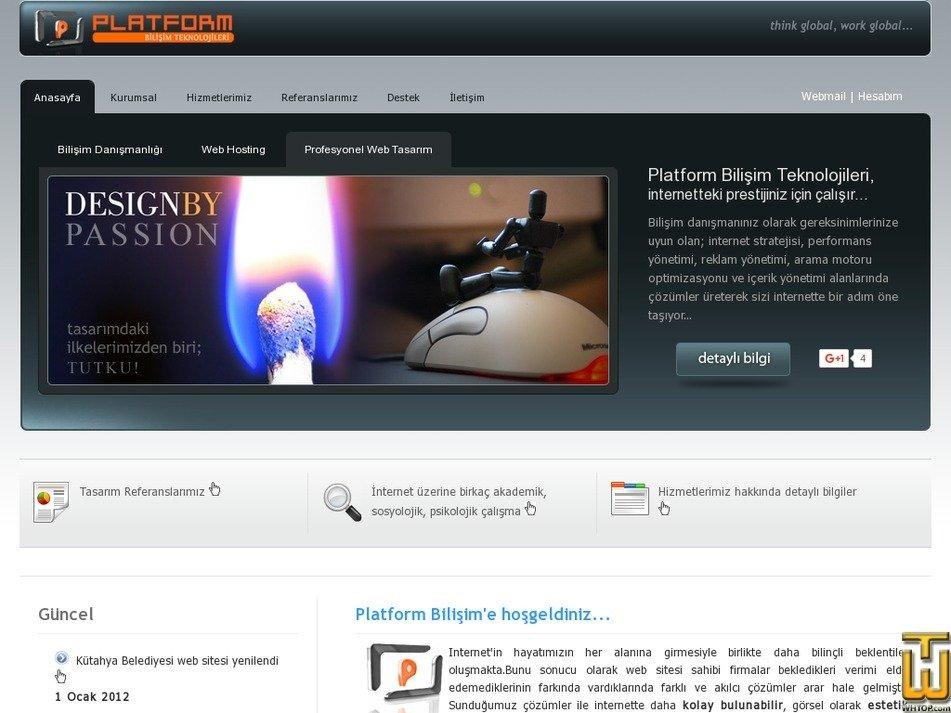 platformbilisim.com Screenshot