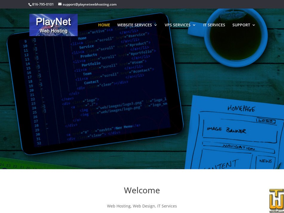 playnetwebhosting.com Screenshot
