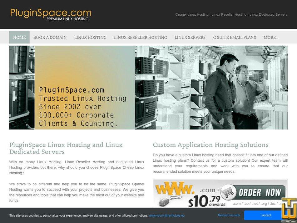 pluginspace.com Screenshot