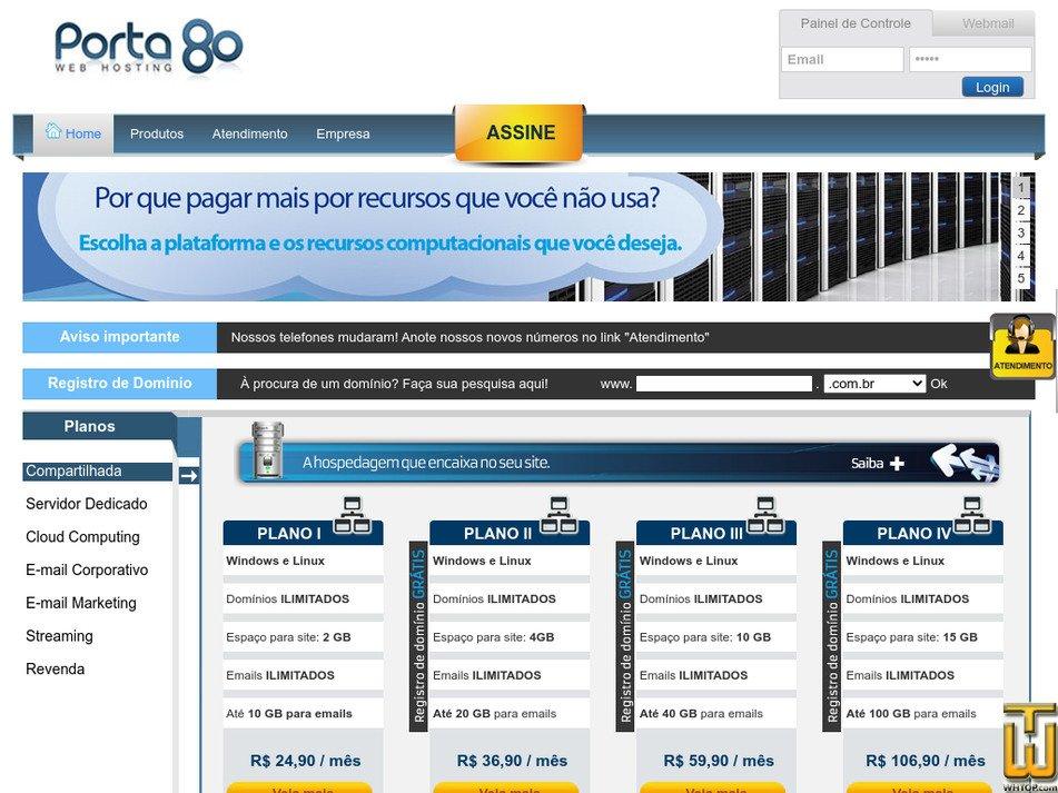 porta80.com.br Screenshot