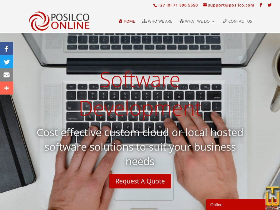 posilco.com Screenshot