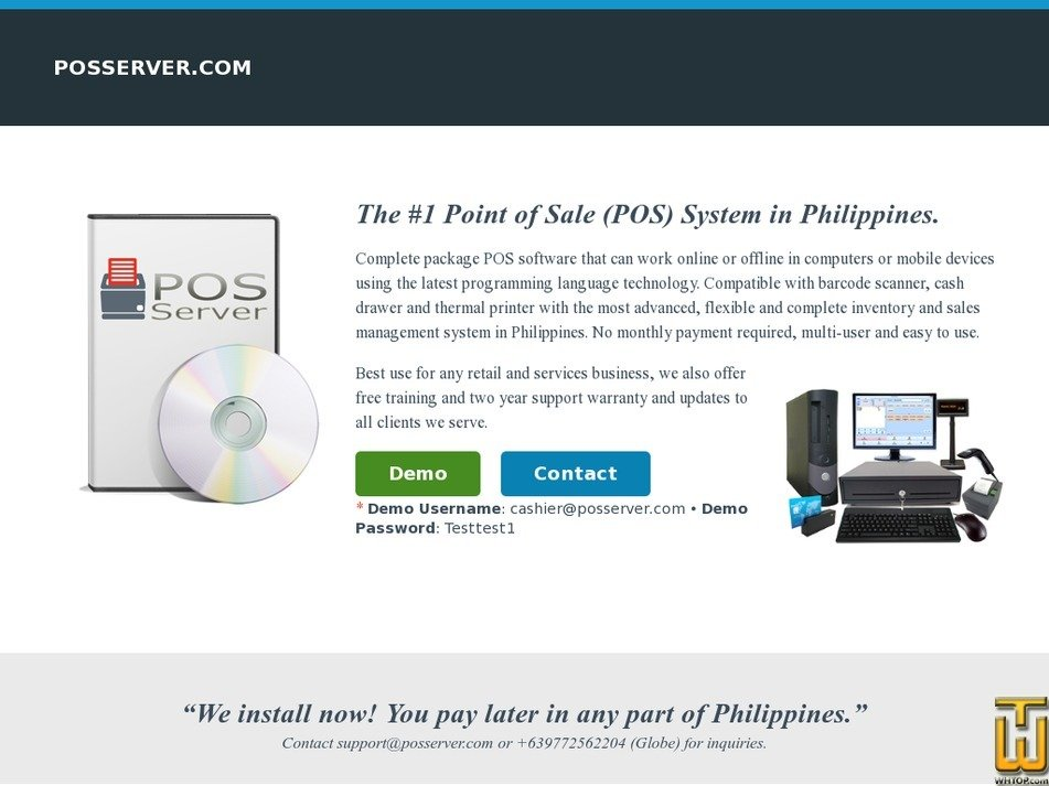 posserver.com Screenshot