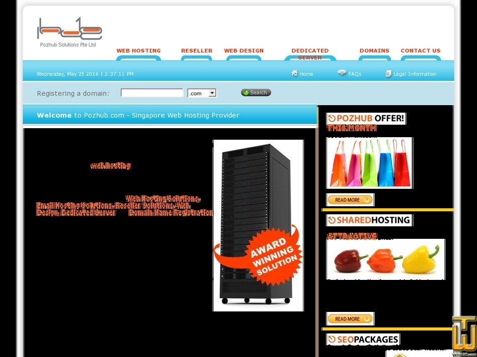 pozhub.com Screenshot