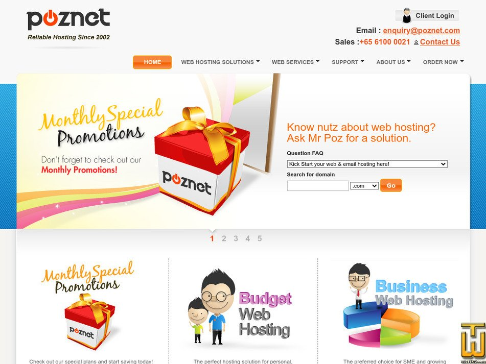 poznet.com Screenshot