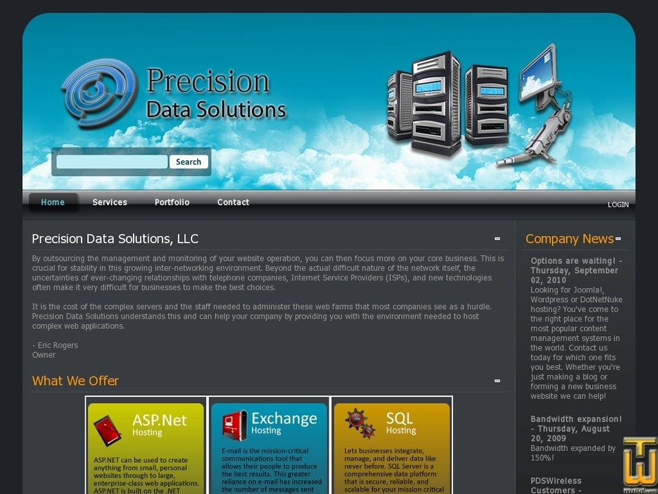 precisionds.com Screenshot
