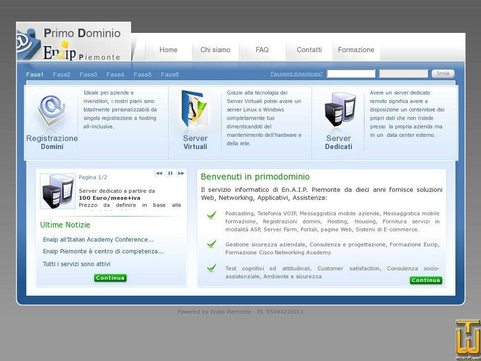 primodominio.it Screenshot