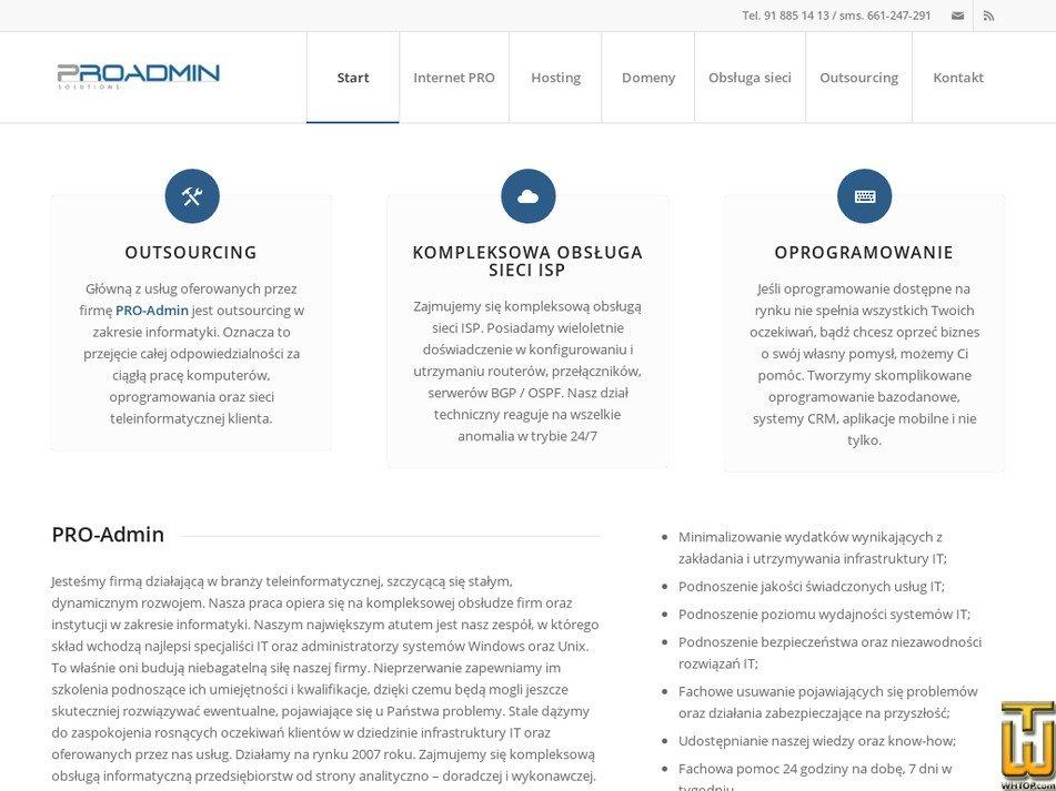 pro-admin.pl Screenshot