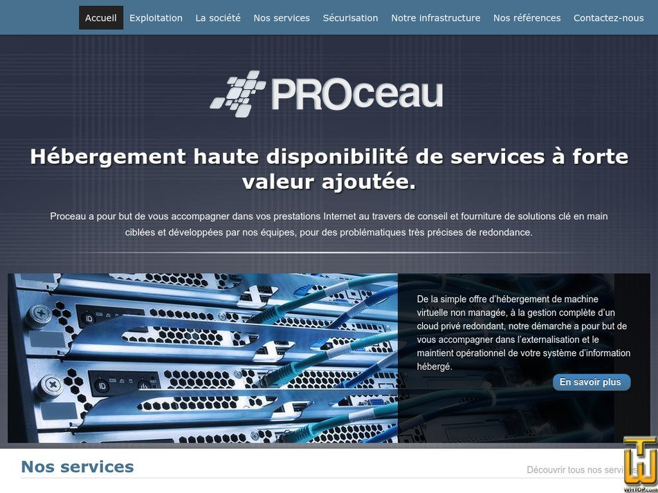 proceau.net Screenshot