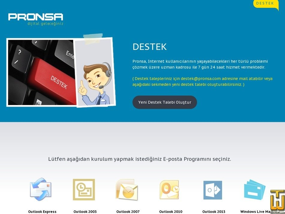 pronsa.com Screenshot
