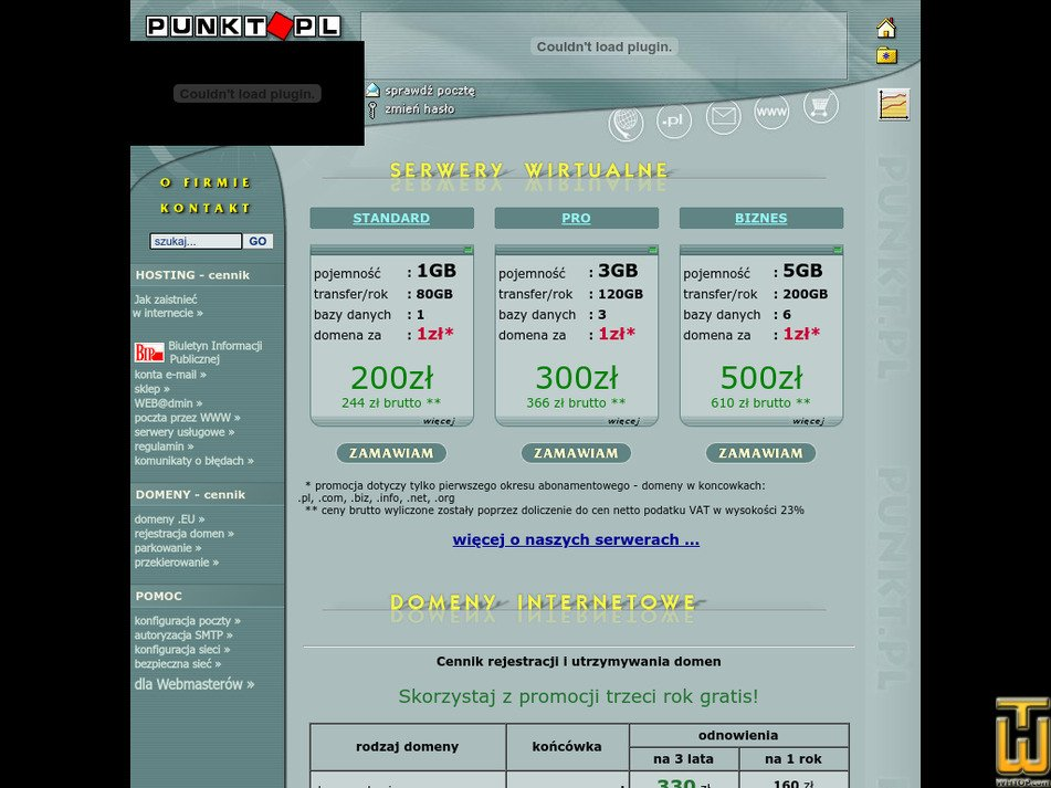 punkt.pl Screenshot