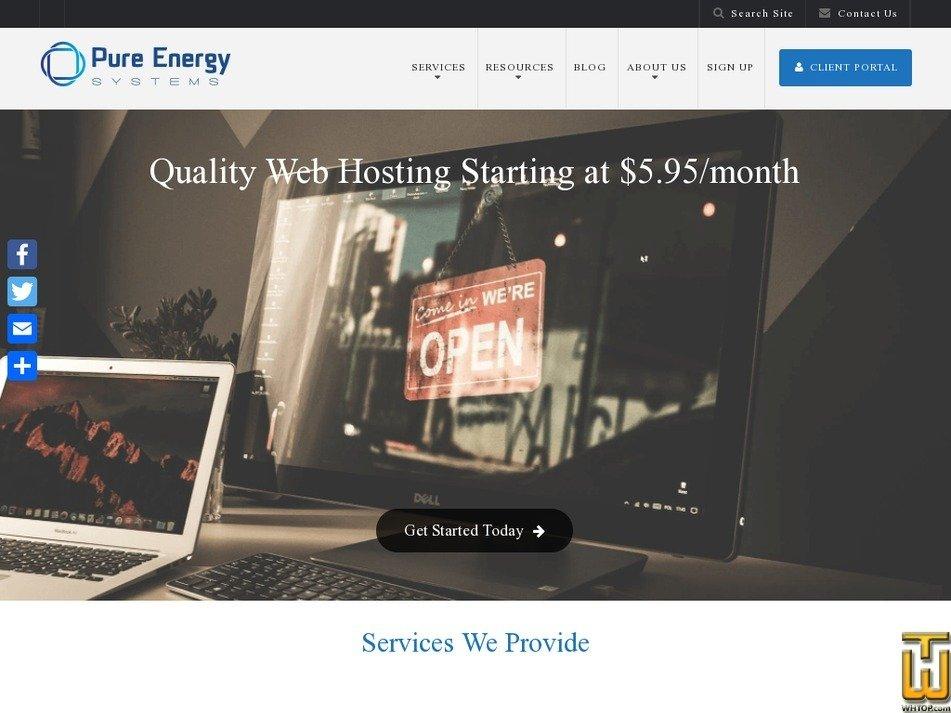 purenrg.com Screenshot