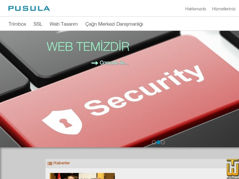 pusula.com.tr Screenshot