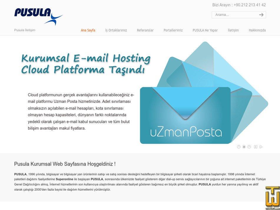 pusulanet.com.tr Screenshot