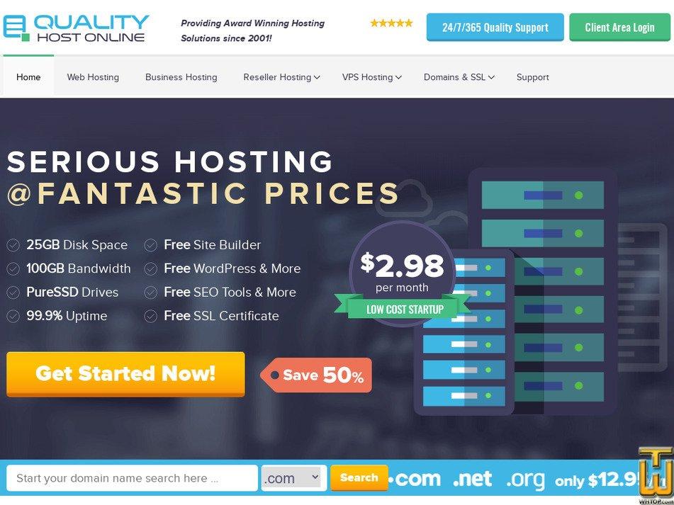 qualityhostonline.com Screenshot