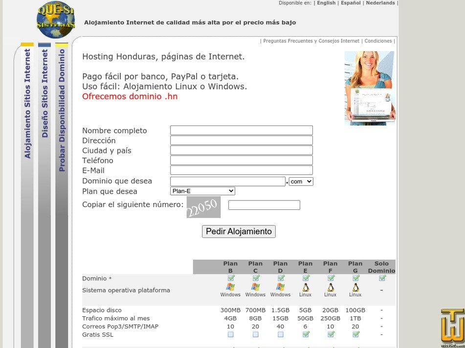 que-si.net Screenshot