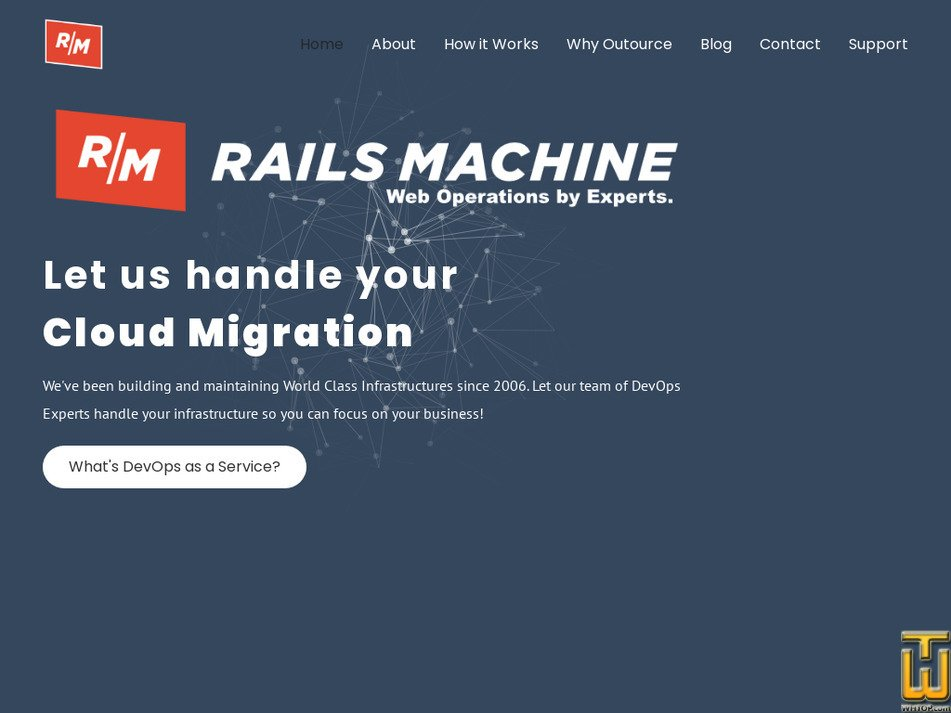 railsmachine.com Screenshot