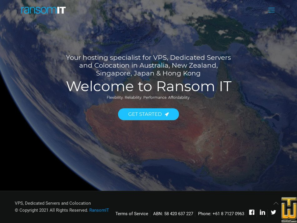 ransomit.com.au Screenshot