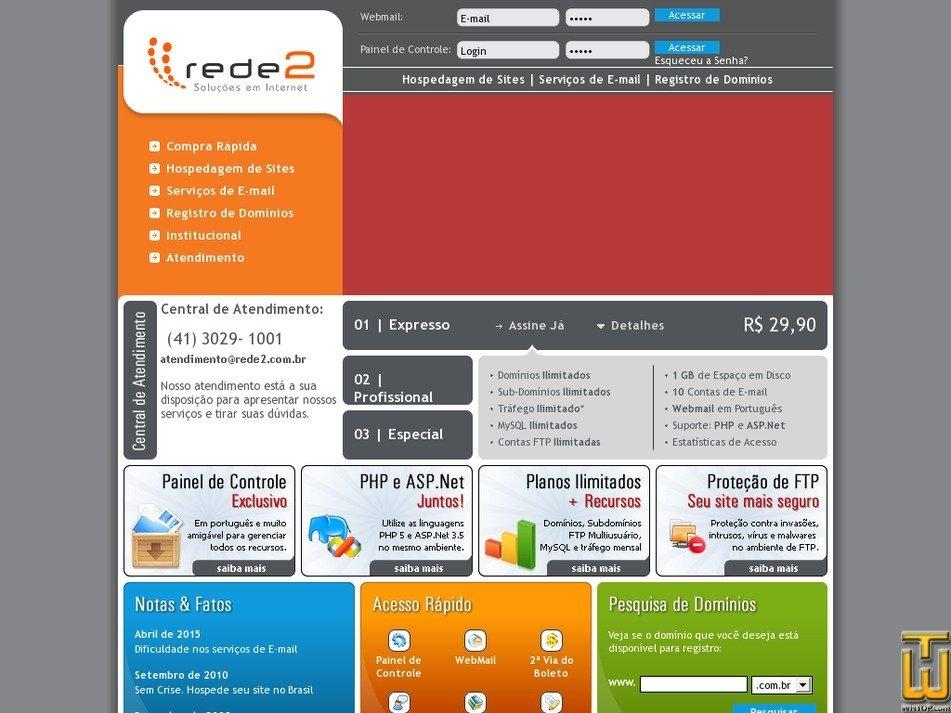 rede2.com.br Screenshot