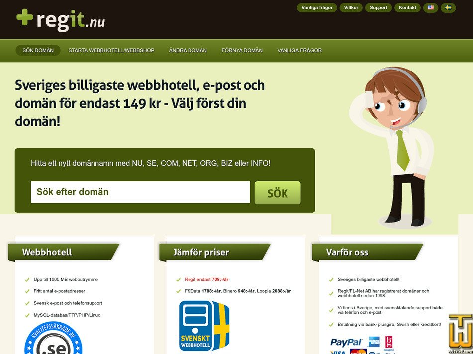 regit.nu Screenshot