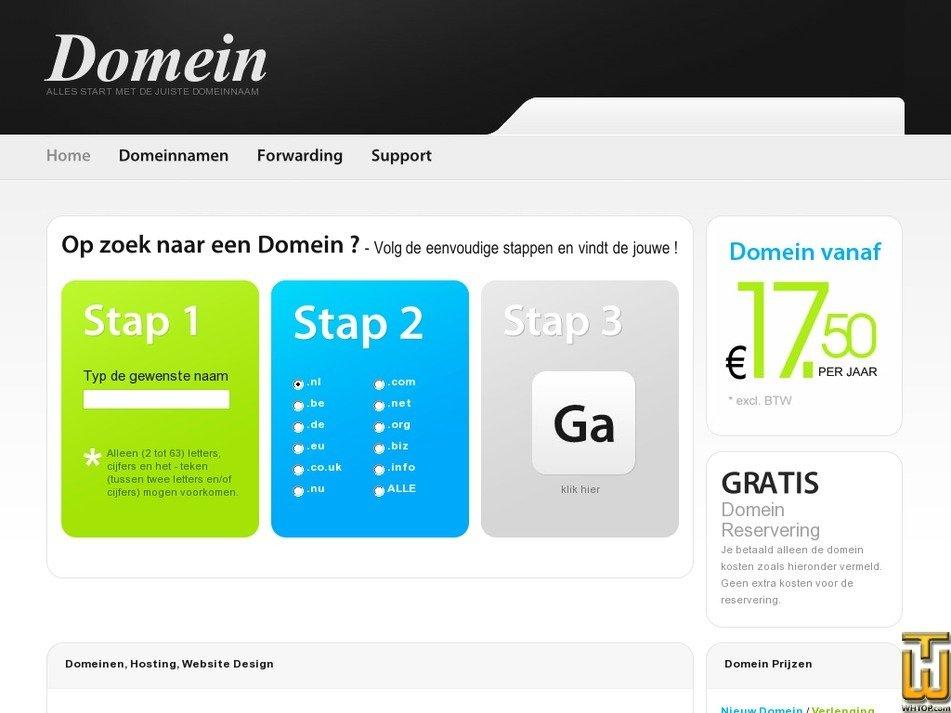 reserveer-een.nl Screenshot