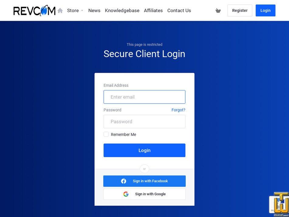 revcom.net Screenshot