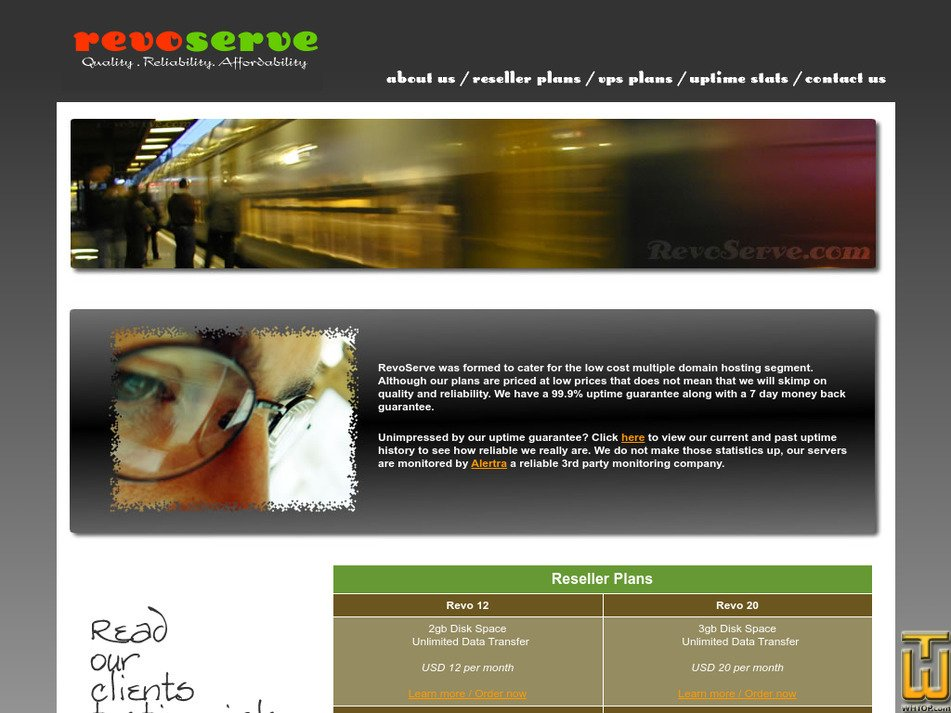 revoserve.com Screenshot