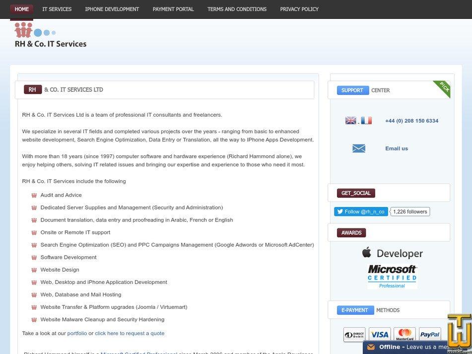 richammond.com Screenshot