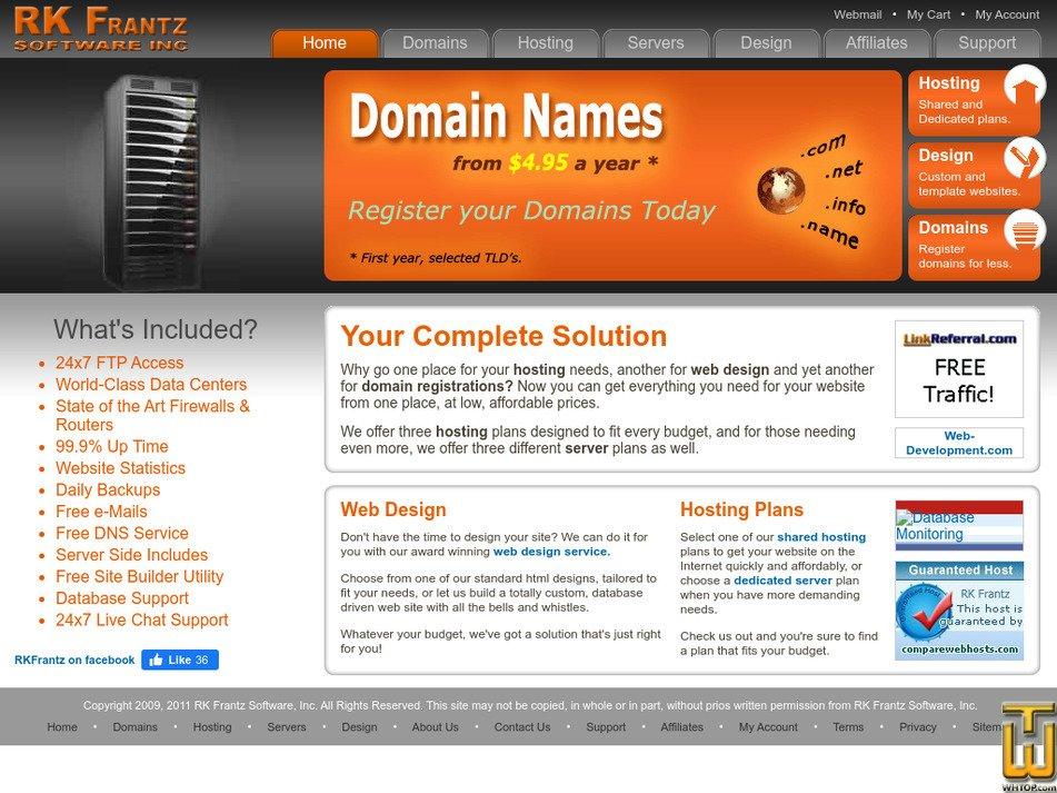 rkfrantz.com Screenshot