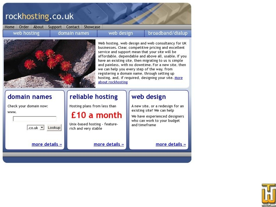 rockhosting.co.uk Screenshot