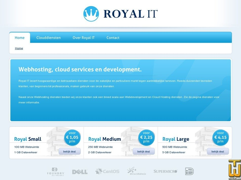 royal-it.nl Screenshot