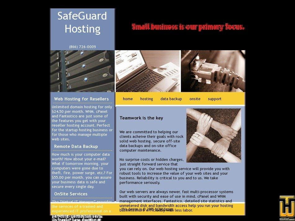 safeguardcomputer.com Screenshot