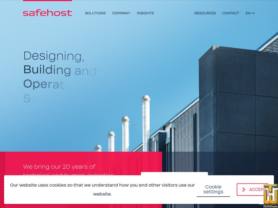 safehost.com Screenshot