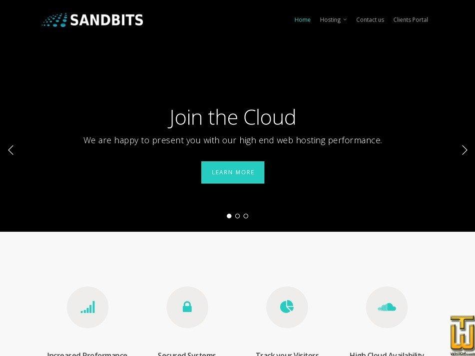 sandbits.com Screenshot