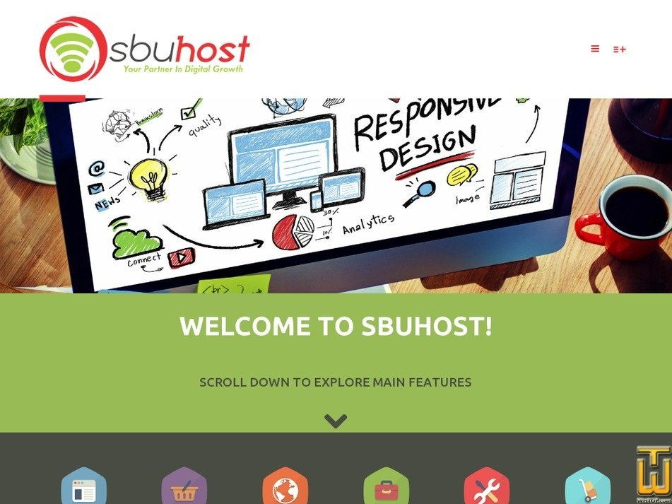 sbuhost.co.za Screenshot