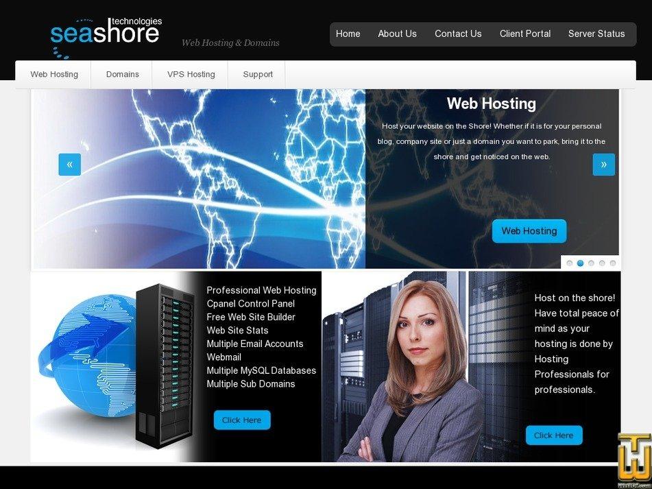 seashoretech.co.za Screenshot