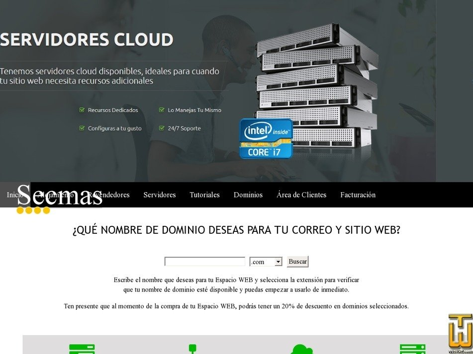 secmashost.com Screenshot