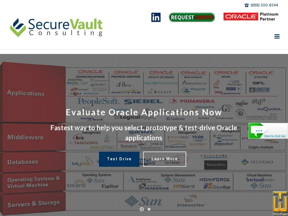 securevault.com Screenshot